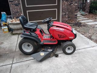 Troy Bilt 46  21HP lawn Mower Tested And Working