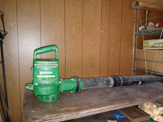 Weed Eater Ground Sweeper Tested And Working