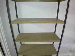 Cool Metal 5 Tiered Retro Shelf