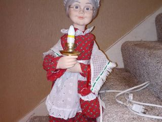 Mrs Claus Christmas Decoration That Moves Tested And Working