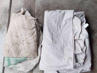 2 Canvas Drop Cloths
