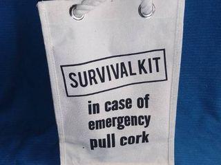 Survival Kit Wine Bag