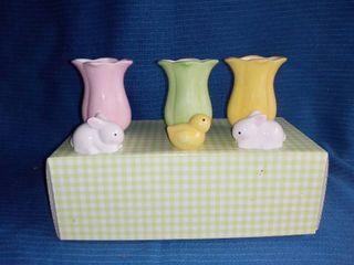 Hallmark Porcelain Easter Vases