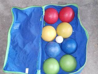 Travel Bocce Ball Set