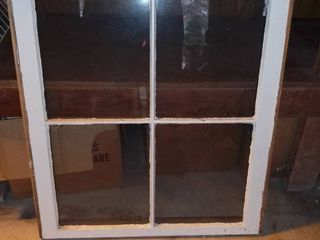 4 Pane Wood Window