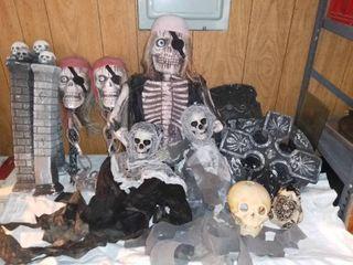 Halloween Decorations lot