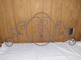 Ornate Iron Candle Holder