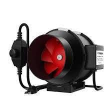 Vivosun Inline Duct Fan w  Variable Speed Controller