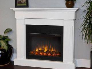 Crawford Slim line Electric Fireplace Mantel