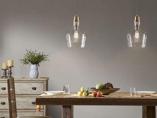 Hampton Hill Abalone Glass Pendant light