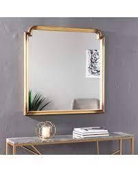 Silver Orchid Kilgour Decorative Wall Mirror