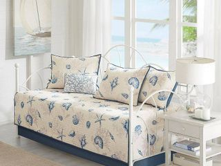Blue Rockaway Daybed Set  75x39  6pc