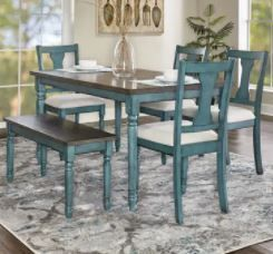 Willow Modern Farmhouse Dining Table