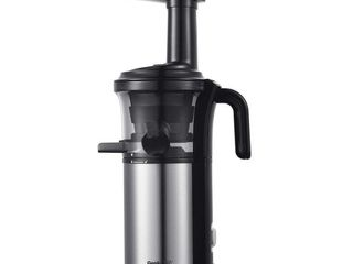 Geek Chef GSC36 Compact Electric Slow Masticating Juice Extractor Juicer Machine  Retail  89 99