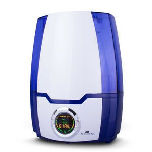 Air Innovations MH 505A High Performance Cool Mist Ultrasonic Humidifier  Blue  Retail  62 99
