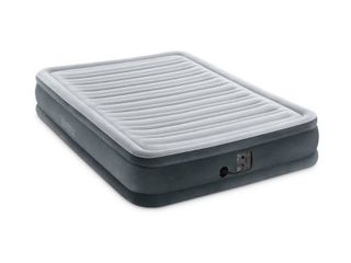 Intex Dura Beam Plus Series Mid Rise Airbed with Built In Electric Pump  Full  Retqil  118 99