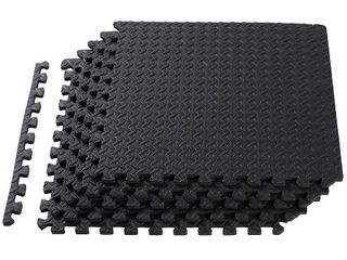 HolaHatha EVA Foam Puzzle Exercise Gym Equipment Floor Mat Interlocking Tiles  Retail  42 99