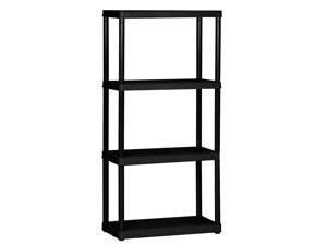 Gracious living 4 Tier Shelf light Duty Indoor Garage Storage Shelving Unit  Retail  69 99
