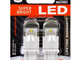 SYlVANIA ZEVO 3157 White lED Bulb  Pack of 2   Retail  19 75