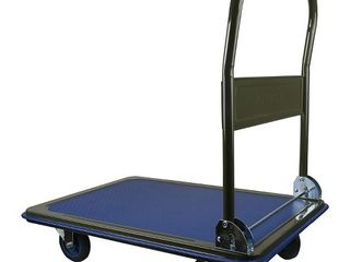 Olympia Tools 85 152 Portable 600 Pound Capacity Rolling Dolly Platform Cart  Retail  140 99