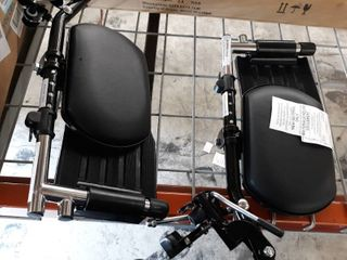 Invacare Elevating legrest Assembly With padded Calf Pad  Retails 180
