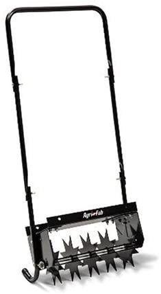 Agri Fab 45 0365 16 inch Push Spike Aerator  Black  Retails 69 99