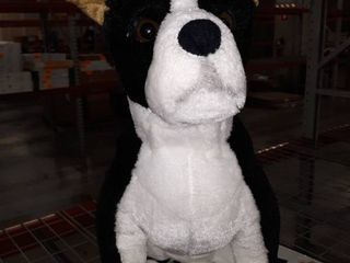 Melissa   Doug Boston Terrier Plush   New Stuffed Animals   Color  Black  RETAIl PRICE 30