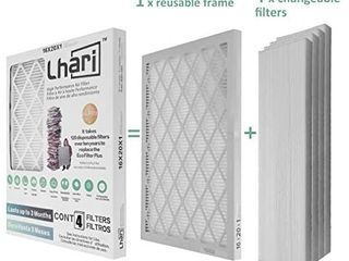 16x20x1 Pleated AC Furnace Air Filter  MPR 1500  Allergen  Bacteria   Virus  4 Pack  MISSING 1 FIlTER RETAIl PRICE 35