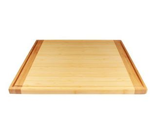 BambooMN Universal Premium Pull Out Cutting Boards   Under Counter Replacement   Designed To Fit Standard Slots   High Quality Heavy Duty Kitchen Board with Juice Groove   20  x 16  x 0 75    1 Piece RETAIl PRICE 45