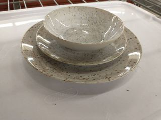 Set of ceramic plates  pack of 6  of each plate