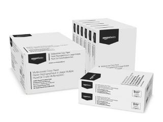 Amazonbasics Multipurpose Copy Printer Paper   White  8 5 X 11 1 Ream  White Pack of 8  retail price 27