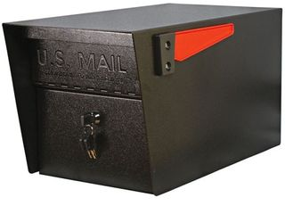 Mail Boss 7500 Manager Pro locking Security Mailbox  Black  Retails 169 99