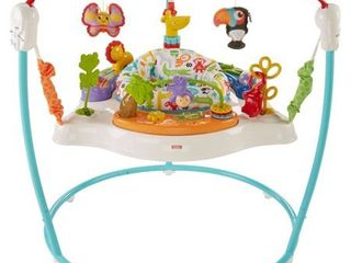 Fisher Price Animal Activity Jumperoo with lights   Sounds  Retails 89 99