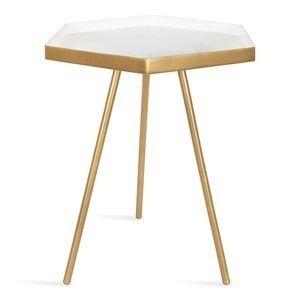 Wayfair Alfie 3 legs End Table  RETAIl PRICE 84 99