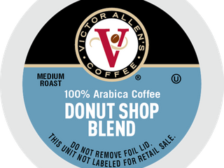 Victor Allen s Coffee K Cups  Donut Shop Single Serve Medium Roast Coffee  200 Count  Keurig 2 0 Brewer Compatible RETAIl PRICE 64 00