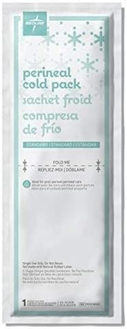 Medline MDS138055 Standard Perineal Cold Packs  4 5  x 14 25  Pack of 24  Green RETAIl PRICE 29 99