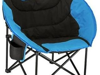 KingCamp Camping Folding Moon Chair with Cup Holder and Back Pocket RETAIl PRICE 69 99