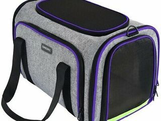 OMORC Pet Carrier Airline Approved  Expandable Foldable Soft Sided Dog Carrier  3 Open Doors  2 Reflective Tapes  Pet Travel Bag Safe and Easy for Cats and Dogs  RETAIl PRICE 40 99