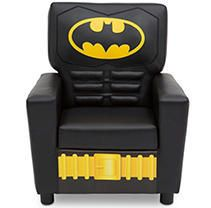 Batman High Back Upholstered Chair   Delta Children RETAIl PRICE 109 99
