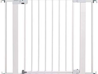 Safety 1st Easy Install Auto Close Baby Gate with Pressure Mount Fastening  White  RETAIl PRICE 69 99
