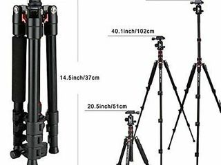 BONFOTO B690A lightweight Aluminum Tripod Portable Travel Camera Stand with 3  retail price  72 73