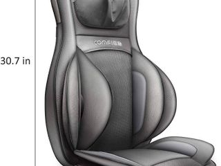 Comfier Neck and Back Massager with Heat  Shiatsu Massage Chair Pad Portable with Air Compress   Rolling Kneading Chair Massager for Full Back Neck   Shoulder  Full Body Pain Relief Retail price  196 99