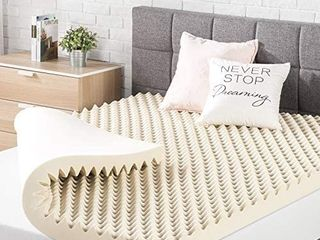 Best Price Mattress 3 Inch Egg Crate Memory Foam Topper  Mattress Pad With Queen Retail Price  69 09
