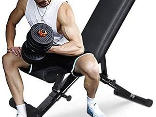 FlYBIRD Weight Bench  Adjustable Strength Training Bench for Full Body Workout with Fast Folding  2021 Retail price  185 00