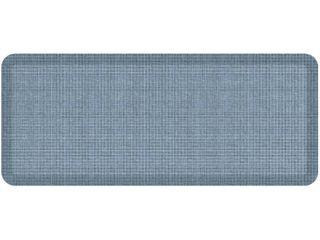 Newlife by GelPro Designer Comfort Kitchen Floor Mat 20x48 Tweed Hydrangea RETAIl price  93 79