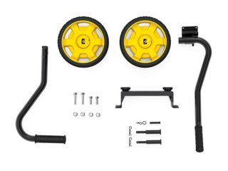 Champion Wheel Kit with Folding Handle and Never Flat Tires for 2800 to 4750 Watt Generators Retails Price  39 99