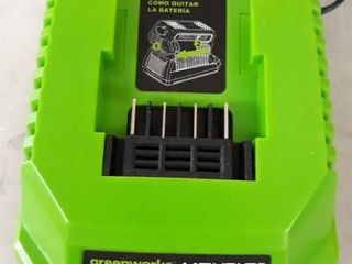 GreenWorks 29482 Quick G MAX 40V lithium ion Battery Charger 40 Volt Gmax