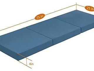 Tri Fold topper  Teal color  Retails 62