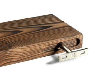 Mark One Home Goods 3 tier Floating Wood Shelf  Retails 54 99