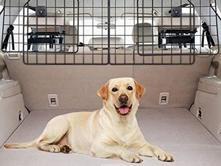 Vetoos Car SUV Dog Barrier  Vehicles pet divider Gate For Trunk Cargo Area  Retails 45 99